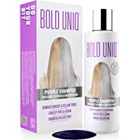 Purple Shampoo For Blonde Hair: Blue Shampoo for Silver and Violet Tones - Banish Yellow Hues: Revitalize Blonde…