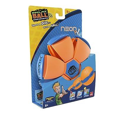 Goliath Phlat Ball Jr, Neon Orange: Toys & Games