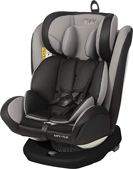 PLAY Safe Four 30189 310 Silla de Coche, grupo 0+/1/2/3 (0-36 kg ...