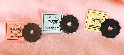 Set of All Four Skip-Stitch Original Blades