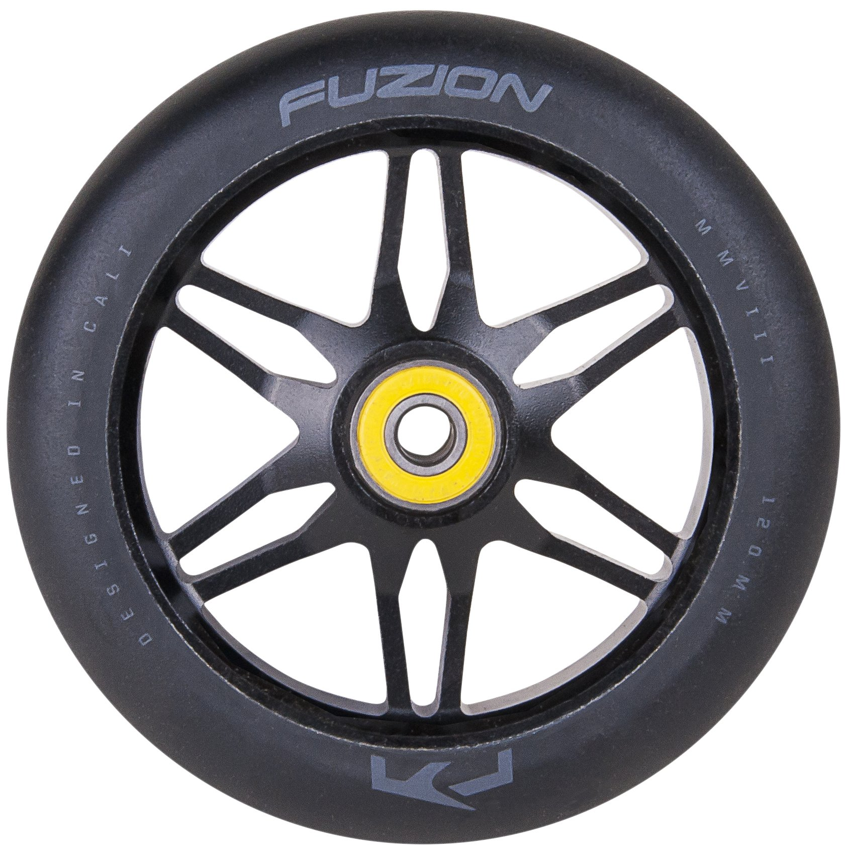 Fuzion Pro Scooters Ace Wheel 120mm (Smoke with Black)