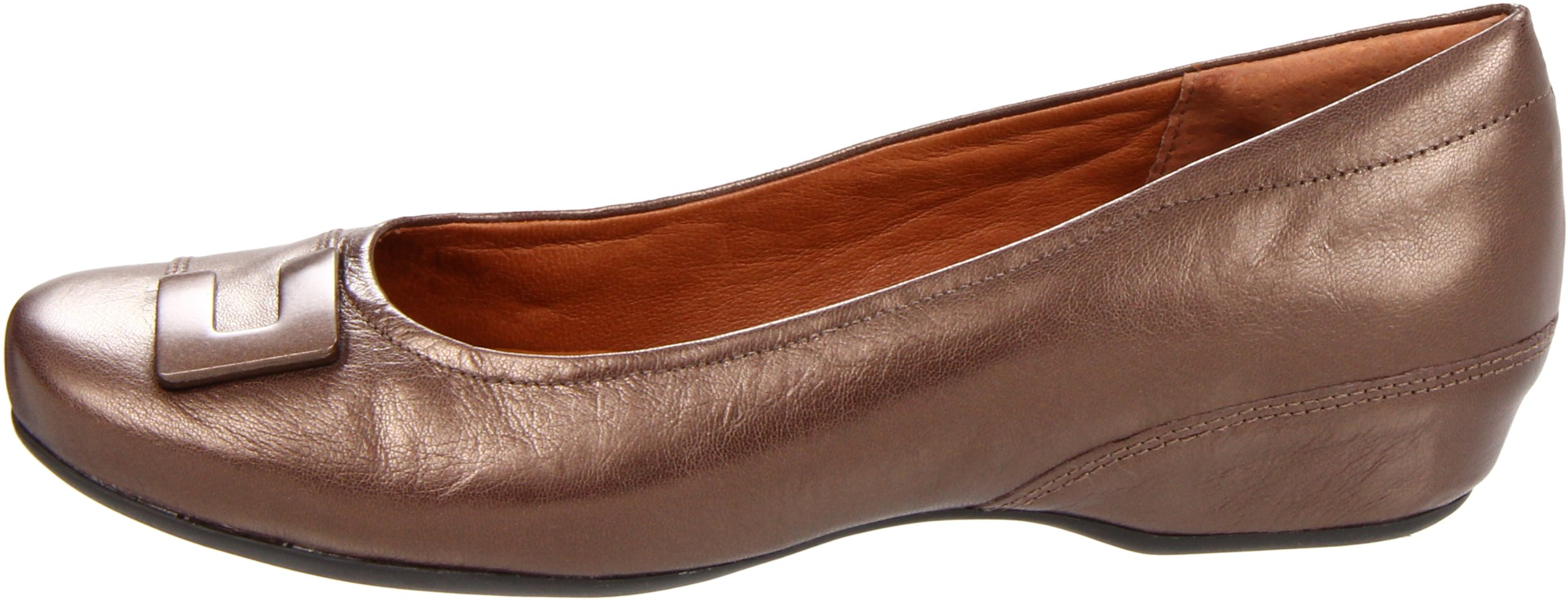 Clarks Women's Concert Choir Dress Shoes,Brown Metallic Leather,5 M US by CLARKS (Image #5)