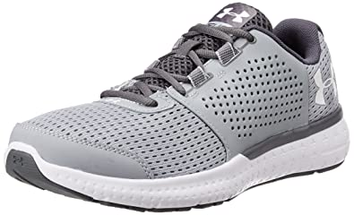 Under Armour Men UA Micro G Fuel RN Training Running Shoes, Grey (Overcast  Gray