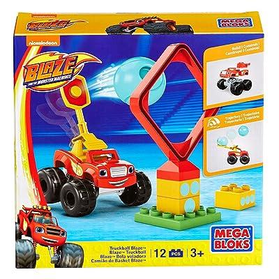 Mega Bloks Monster Machine Truckball Blaze Building Set