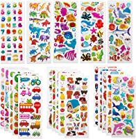 SAVITA 3D Stickers for Kids & Toddlers 500+ Puffy Stickers Variety Pack for Scrapbooking Bullet Journal Including...