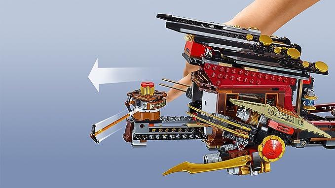 LEGO Ninjago - Barco de Asalto Ninja, juego de construcción (70738) , Modelos/colores Surtidos, 1 Unidad