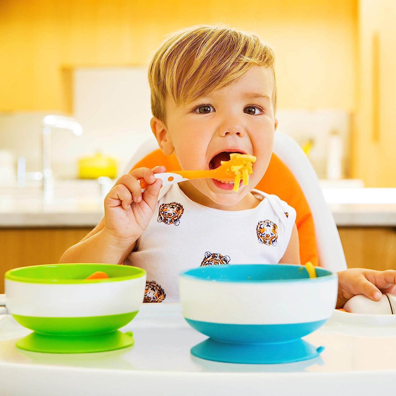 1Pc Baby cutlery kids children non-slip suction bowl sucker bowl feeding In UK