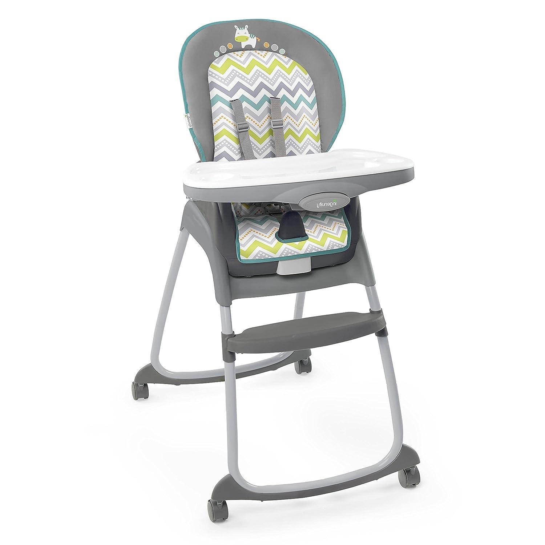 Ingenuity Trio 3-in-1 High Chair-Ridgedale, Grey/Teal Kids II 10108