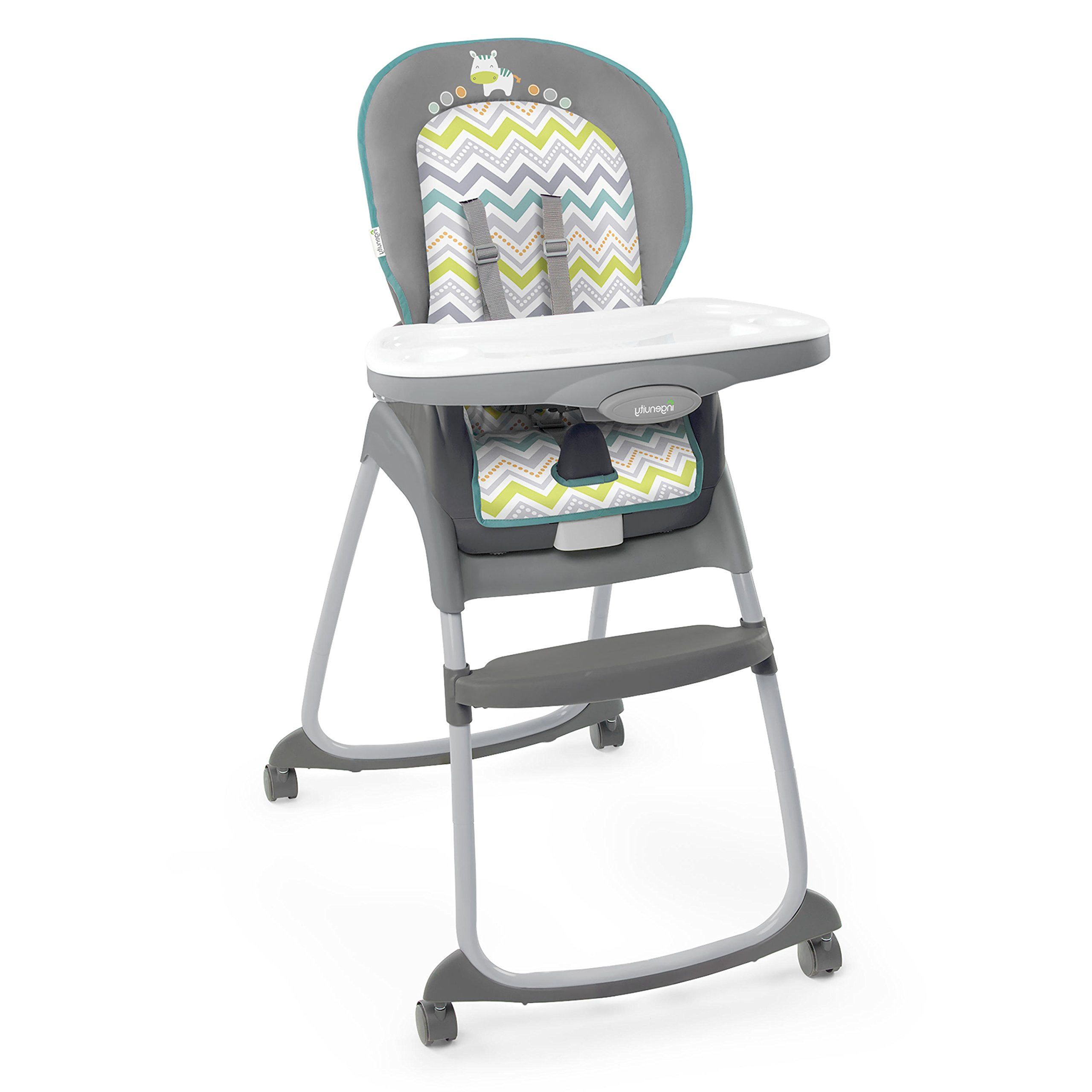 Ingenuity Trio 3-in-1 High Chair - Ridgedale - High Chair, Toddler Chair, and Booster by Ingenuity