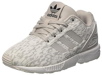 buy online 8f696 80674 adidas Unisex-Kinder Zx Flux C Gymnastikschuhe Grau (Grey F17grey One F17