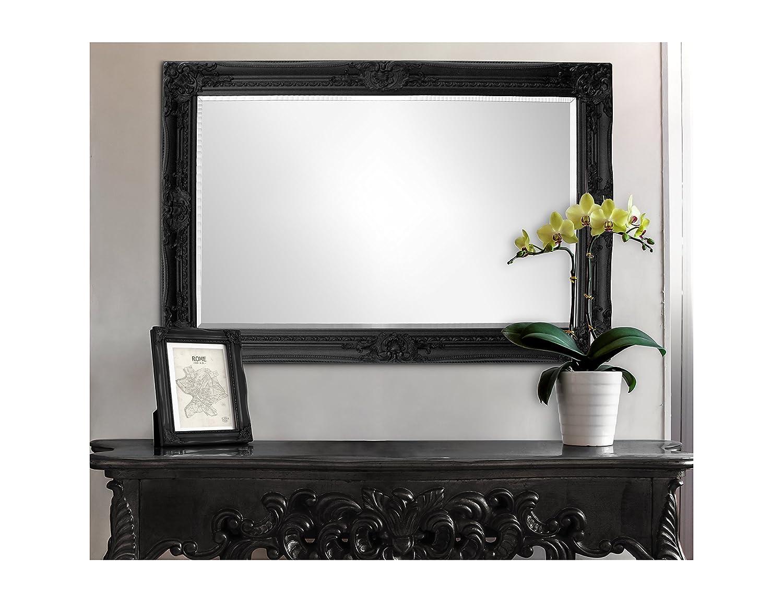 Espejo Pared - Estilo Barroco - Shabby Chic Espejo Grande 90x60 cm ...
