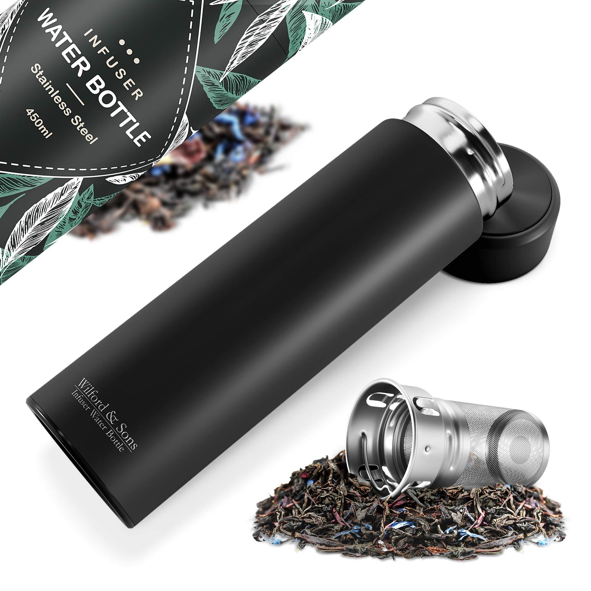 Thermos Water Bottle Stainless Steel Drinkware Office Tea Infuser Vacuum Flasks