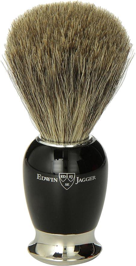 Edwin jagger 81sb586 - Brocha para afeitar de pelo de tejn ...