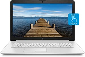 HP 17 Laptop, Intel Core i3-8130U, 8 GB Ram, 1 TB Hard Dive & 128 GB SSD Storage, 17-inch HD+ Touchscreen Display, Windows 10 Home, DVD-Writer (17-by0080nr, 2020 Model)