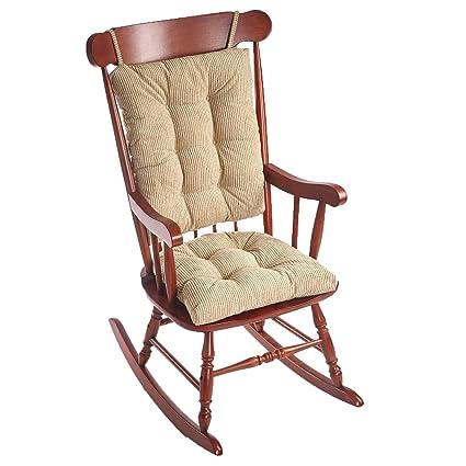 Klear Vu Out West Rocking Chair Pad Set, Linen