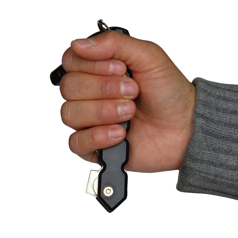 Den Schl/üsselbund im Griff Keyorganiser Kubotan echte Selbstverteidigung Self Defense Immer griffbereit Schl/üsselanh/änger in Einem