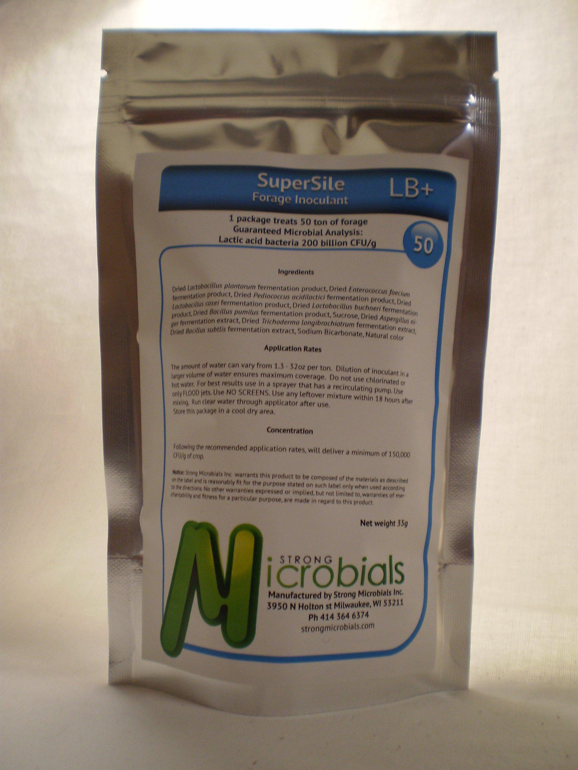 SuperSile Forage Inoculant LB+ 50 ton (L. buchneri) by SuperSile