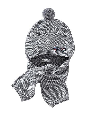 Cyrillus Bonnet écharpe bébé 51 Gris chiné Liberty Edelberry  Amazon ... d27923406dd
