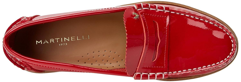 Martinelli Anaya 1362-3363CYM, Mocasines para Mujer, (Rojo), 36 EU: Amazon.es: Zapatos y complementos