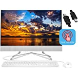 "2020 Flagship HP 24 All in One Desktop Computer 23.8"" FHD IPS Touchscreen Display AMD Athlon Silver 3050U (Beats i5…"