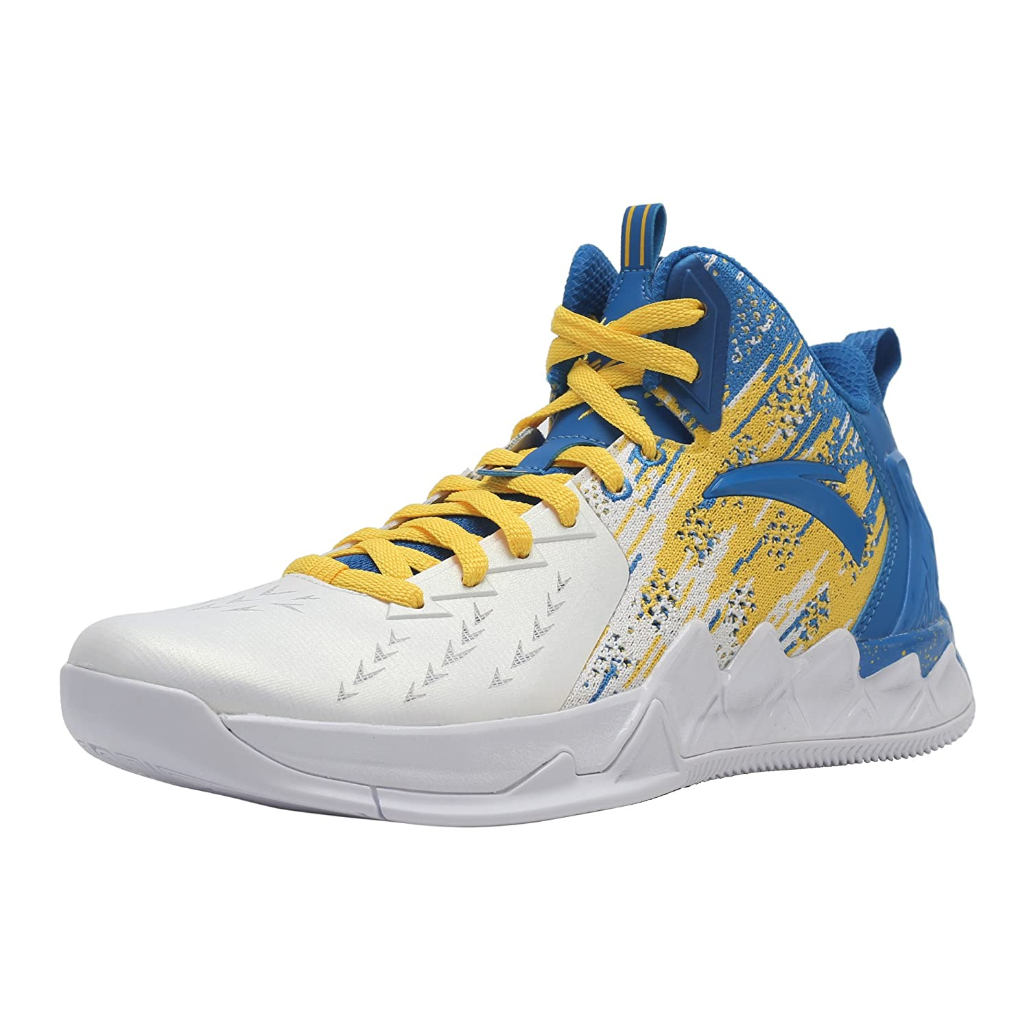 ANTA メンズ B073VG783M 11 D(M) US Kt2-post Home-white/Royal Blue/Yellow