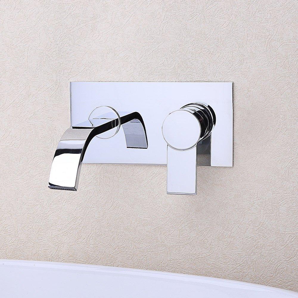 Funky Wall Mount Roman Tub Filler Crest - Bathtub Design Ideas ...