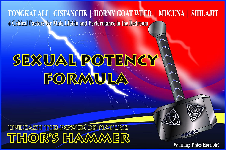 amazon com thor s hammer formula organic supplement
