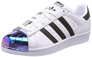 49ee916f50c adidas Women s Superstar Metal Toe Low-Top Sneakers