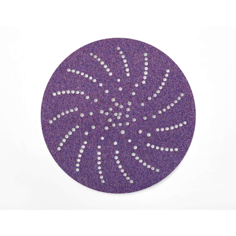 3M Cubitron II Hookit Clean Sanding Paper Disc 732U, 80+ C-weight, 6 in x NH, Die 600LG