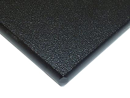"""Plastic Sheet 3//4 x 4 x 8/"""" Black Color High Density Polyethylene HDPE Pack Of 5 Pieces"""