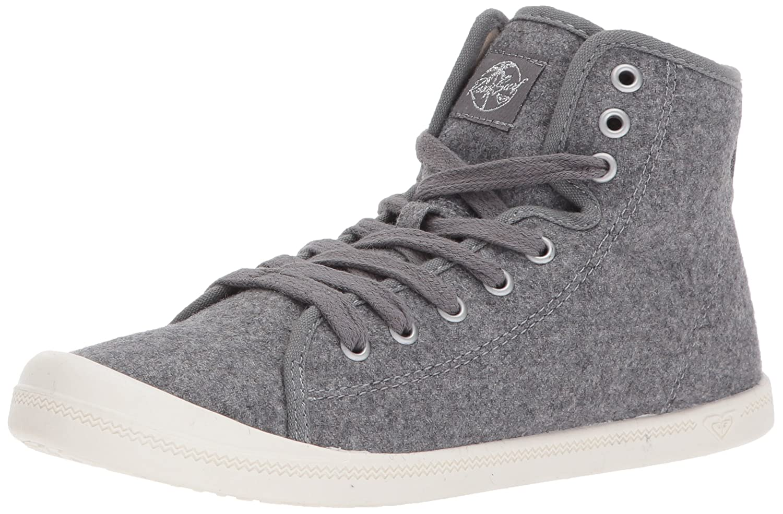 Roxy Women's Rizzo Ii Mid Top Shoe Fashion Sneaker B06Y1WBWL4 10 B(M) US|Grey Heather