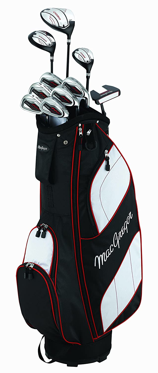 MacGregor CG1900 Package Set (Steel/Graphite) Mens RH Cart ...