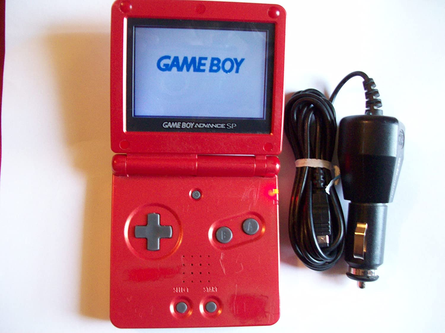 Gameboy color emulator online - Amazon Com Nintendo Game Boy Advance Sp Ags 101 Flame Red Video Games
