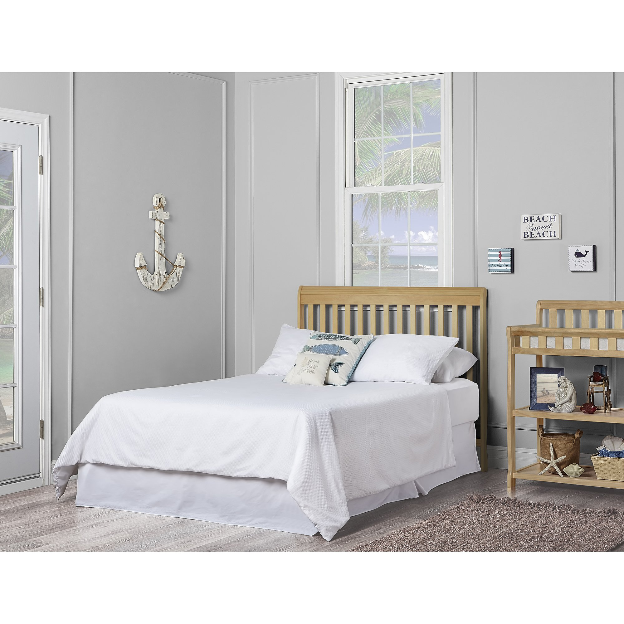 Dream On Me Ashton 5 in 1 Convertible Crib, Natural by Dream On Me (Image #7)