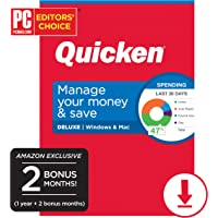Quicken Deluxe Personal Finance 14-Month Subscription PC/Mac Deals