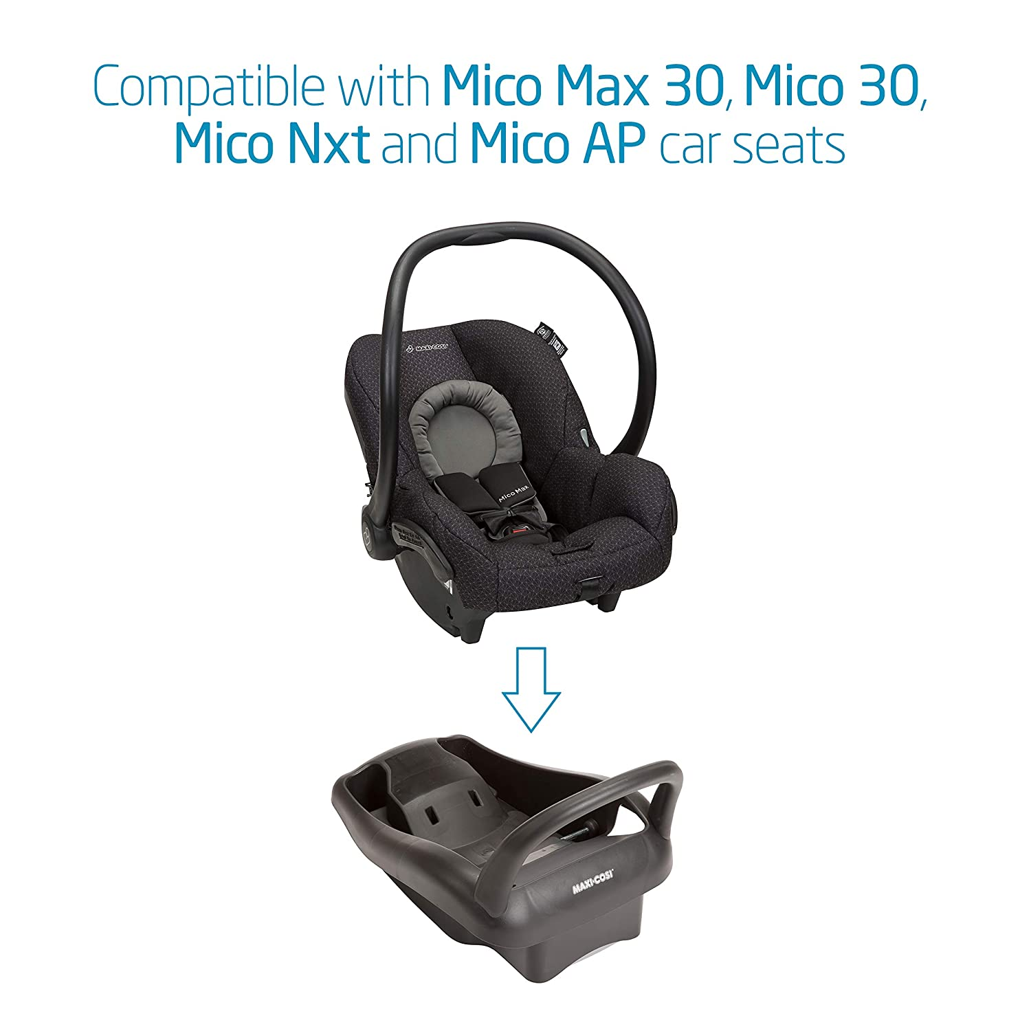 Amazon Maxi Cosi Mico Max 30 Stand Alone Infant Car Seat Base Black Baby