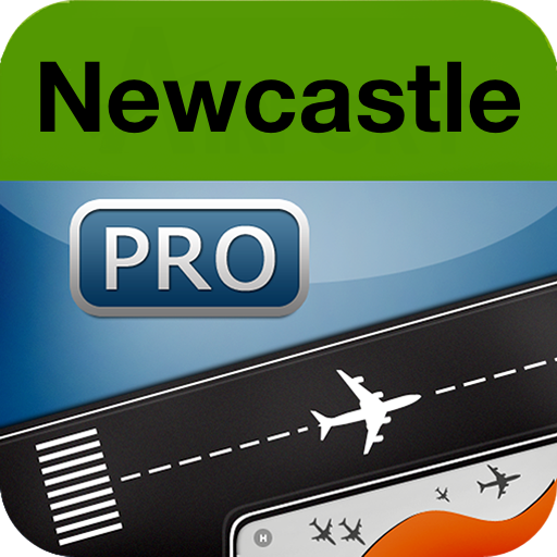 Newcastle Airport + Flight Tracker