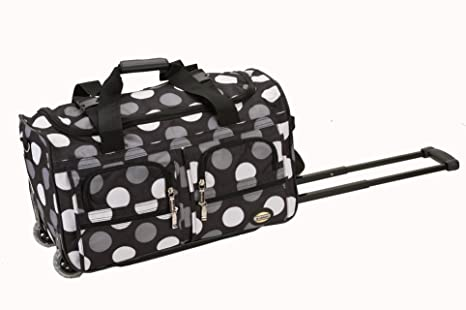 Image Unavailable. Image not available for. Colour  Rockland PRD322 Luggage  Rolling Duffle Bag ... ada69aaaa32f3