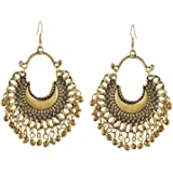 Cardinal Fashion Stylish Oxidised Afghani Tribal Fancy Party Traditional Latest Design Earrings For Girl/Women