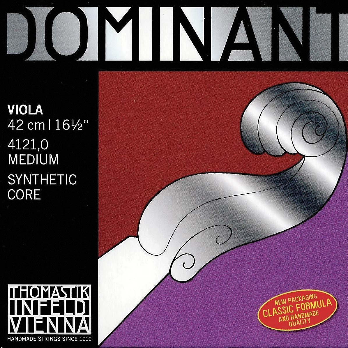Dominant 17'' and larger Viola String Set - Medium Gauge - Thomastik Infeld