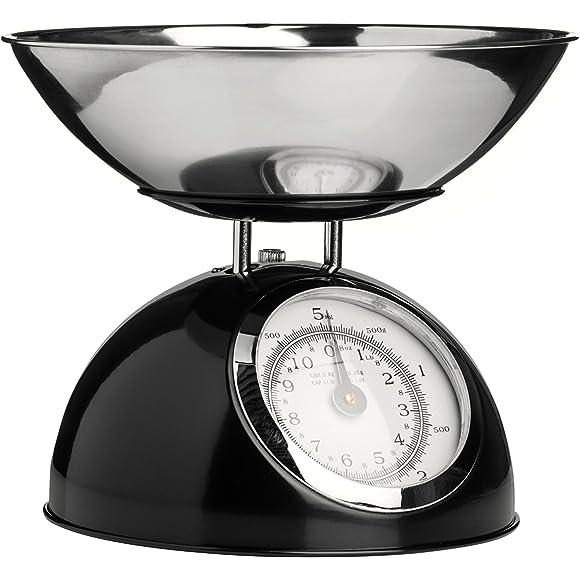 Premier Housewares Black Kitchen Scales