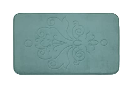 9bf20279621 Amazon.com  Reve Micro Plush Memory Foam Bath Mat with BounceComfort ...