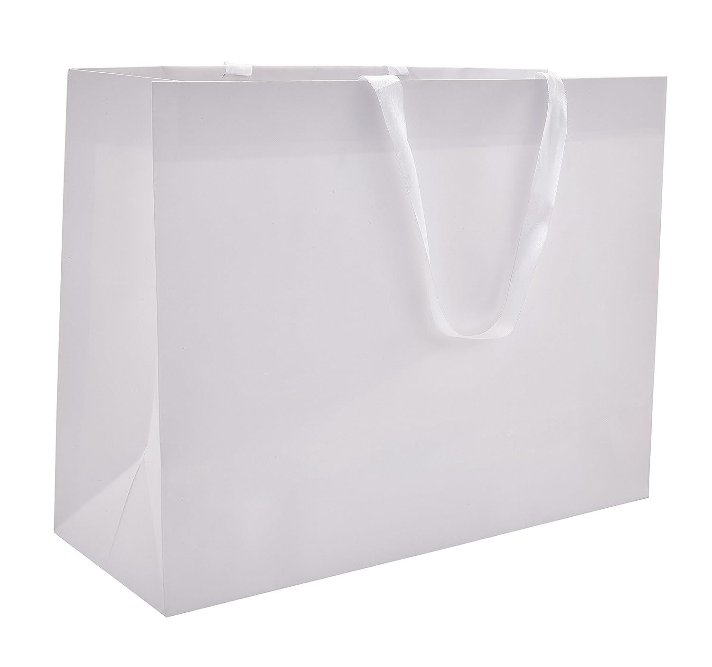 Amazon.com: 100 bolsas de regalo de cinta de satén, estilo ...