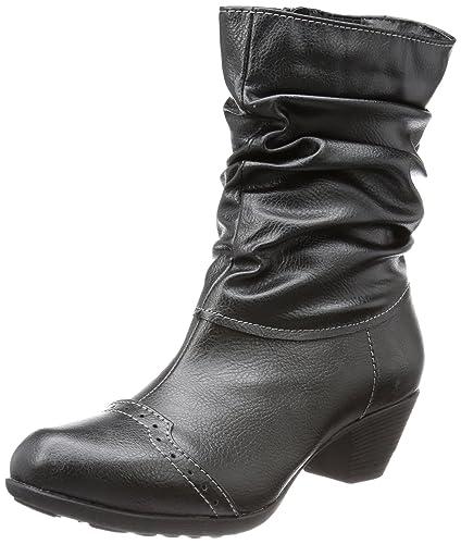 Andrea Conti 0616628, bottes & bottines femmeNoirSchwarz (schwarz 002), 42 EU