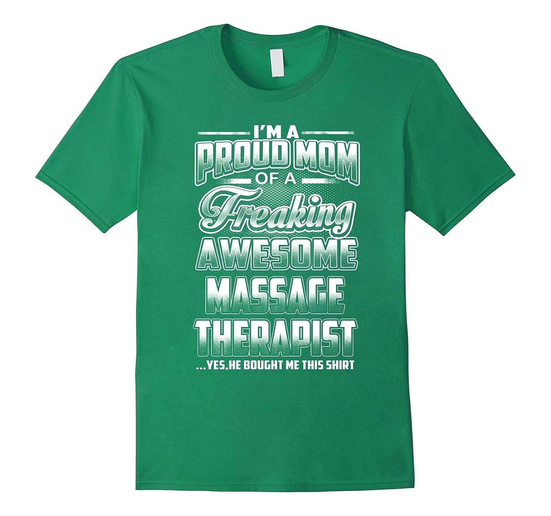 Massage Therapist Mom T-shirt-Art
