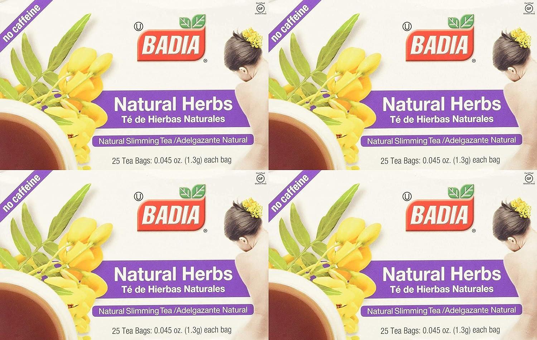 badia herbs natural slimming ceai