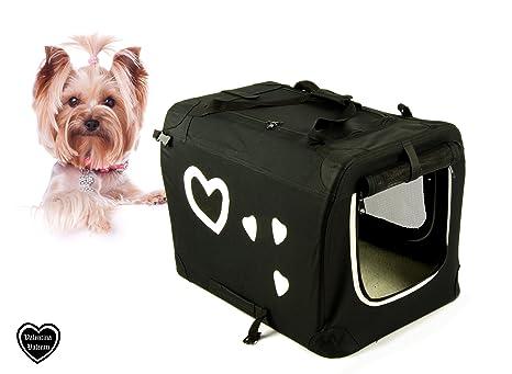 Plegable de PET Carrier Caja de transporte para gatos y perros de tamaño S/M