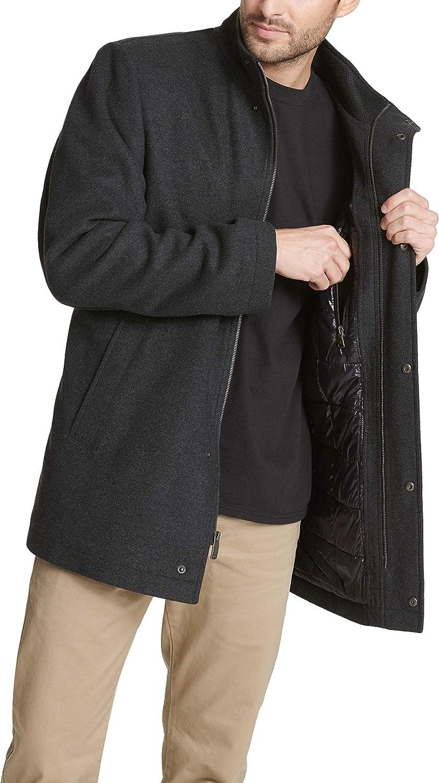 Dockers Mens Tall Size Big /& Tall Wool Melton Four Pocket Military