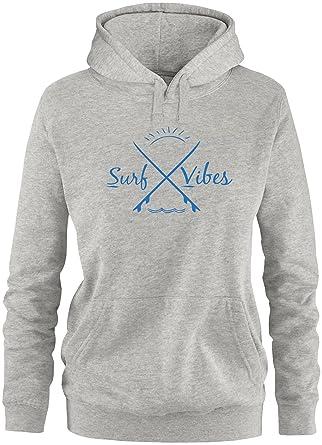 EZYshirt® Surf Vibes Damen Hoodie