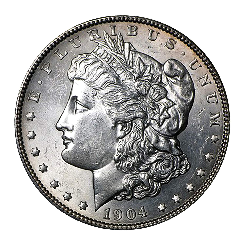1904 O Morgan Dollar BU $1 Brilliant Uncirculated